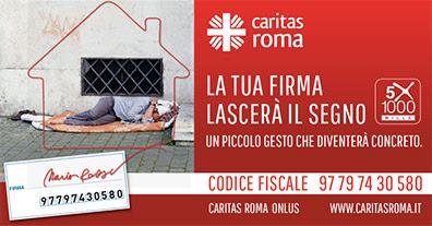 """5×1000 alla fondazione """"Caritas Roma Onlus"""""""