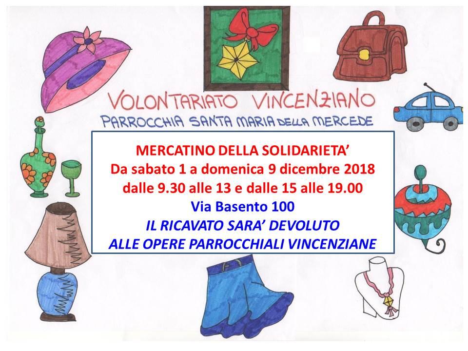 Volantino Mercatino 2018 A4